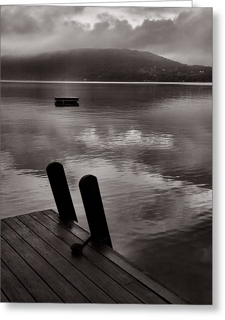 Finger Lakes Greeting Cards - Misty Morning I Greeting Card by Steven Ainsworth