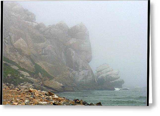 Nine Sisters Greeting Cards - Misty Morro Bay Greeting Card by Carla Parris