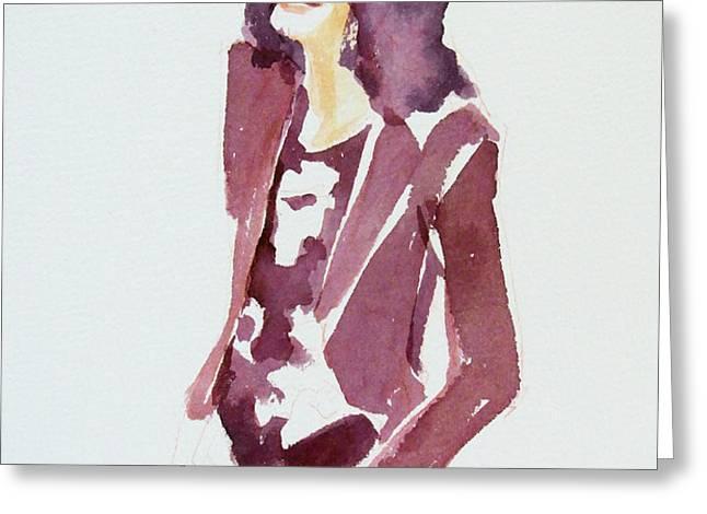 MJ 2009 Greeting Card by Hitomi Osanai