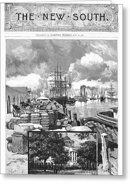 Mobile, Alabama, 1887 Greeting Card by Granger
