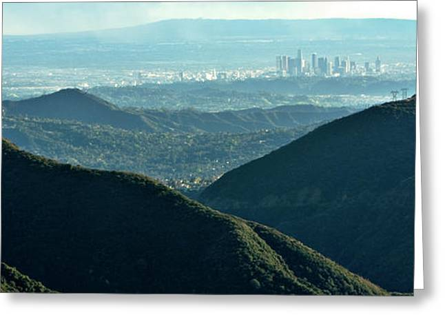 La From Twenty Miles Away Greeting Card by Gilbert Artiaga