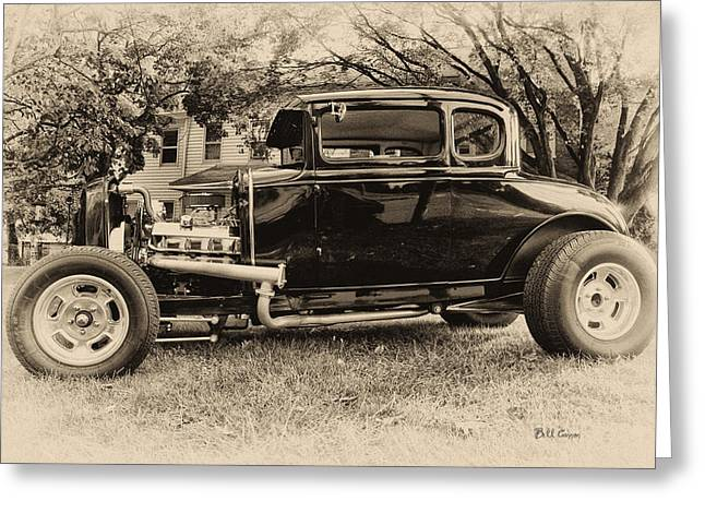 Ford Model A Greeting Cards - Model A Ford Greeting Card by Bill Cannon