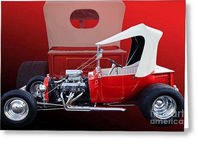 Ford Model T Car Greeting Cards - Model T Ford Greeting Card by Jim  Hatch