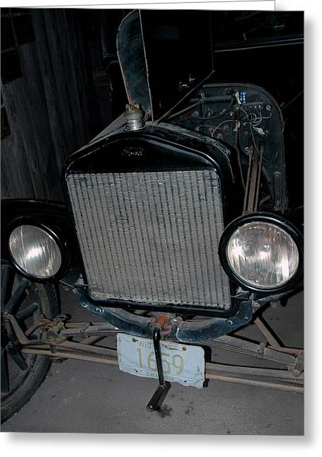 Ford Model T Car Greeting Cards - Model T Greeting Card by LeeAnn McLaneGoetz McLaneGoetzStudioLLCcom