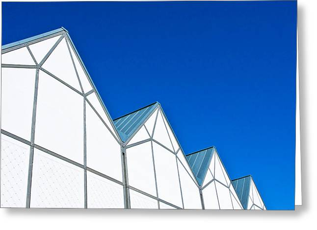 Recently Sold -  - Ultra Modern Greeting Cards - Modern architecture Greeting Card by Tom Gowanlock