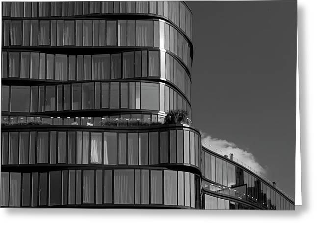 Modern Building Chelsea Nyc Greeting Card by Robert Ullmann