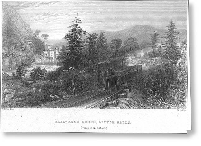 Bartlett Greeting Cards - Mohawk Valley, Ny, 1838 Greeting Card by Granger