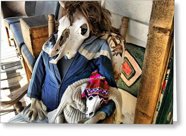 Cindy Nunn Greeting Cards - Mojave Mama Greeting Card by Cindy Nunn