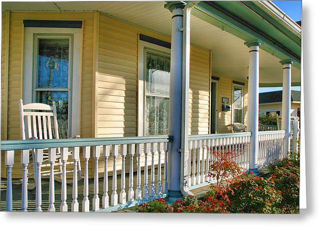 Old Inns Photographs Greeting Cards - Mollys Inn II Greeting Card by Steven Ainsworth