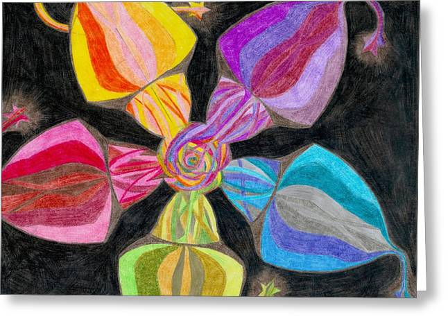 Morphing Greeting Cards - Moment in Time Greeting Card by Aileen Heymach
