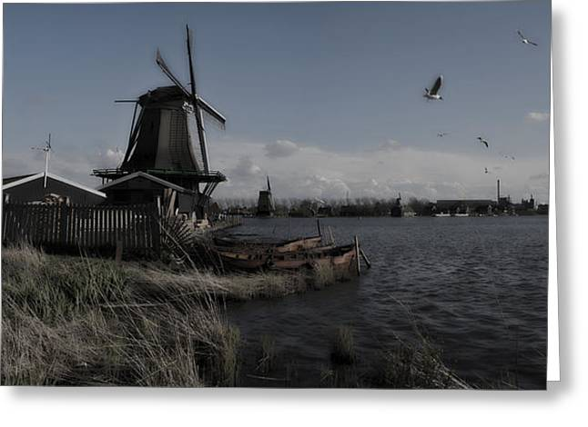 Zaans Greeting Cards - Moments in Time mk 2 Greeting Card by Wessel Woortman