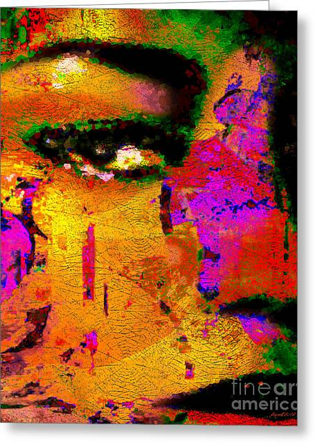 Moments Of Power Greeting Cards - Moments of Grace Greeting Card by Fania Simon