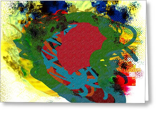 Various Digital Greeting Cards - Monday Pieces Greeting Card by James Thomas