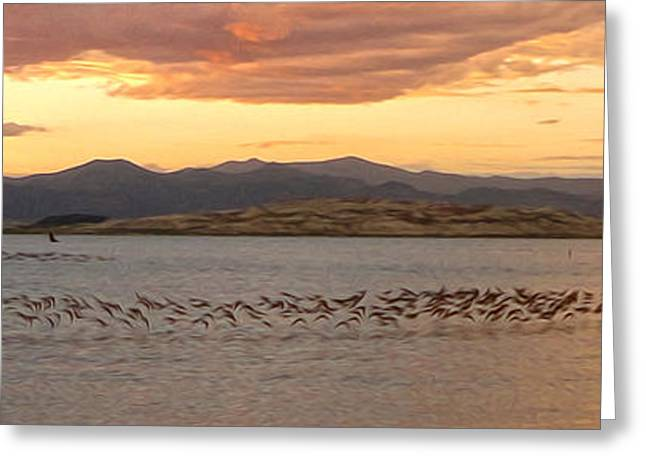 Gregory Dyer Greeting Cards - Mono Lake - 14 Greeting Card by Gregory Dyer