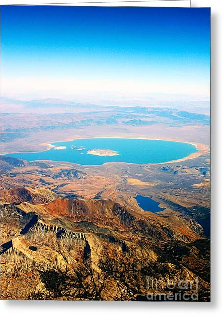 Planet Earth Greeting Cards - Mono Lake - Planet eARTh Greeting Card by James BO  Insogna
