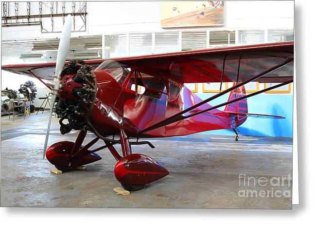 Monocoupe 110 . 7d11149 Greeting Card by Wingsdomain Art and Photography