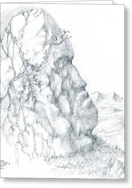 Dolmen Greeting Cards - Monolith 1 Greeting Card by Curtiss Shaffer