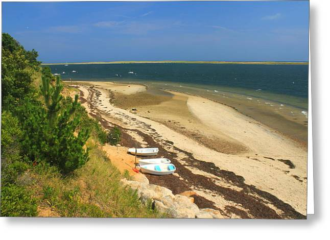 Chatham Greeting Cards - Monomoy National Wildlife Refuge Chatham Greeting Card by John Burk