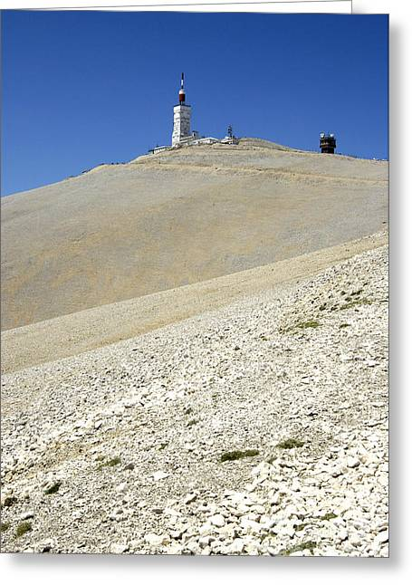 Transmitter Greeting Cards - Mont Ventoux.Provence Greeting Card by Bernard Jaubert