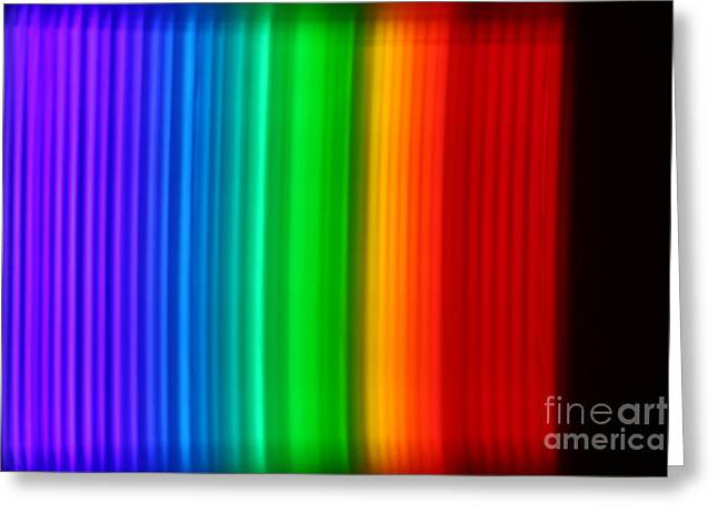 Spectra Greeting Cards - Montage Of Various Spectra Greeting Card by Ted Kinsman