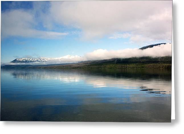 Montana Landscapes Photographs Greeting Cards - Montana Blue Sky Greeting Card by Amanda Kiplinger