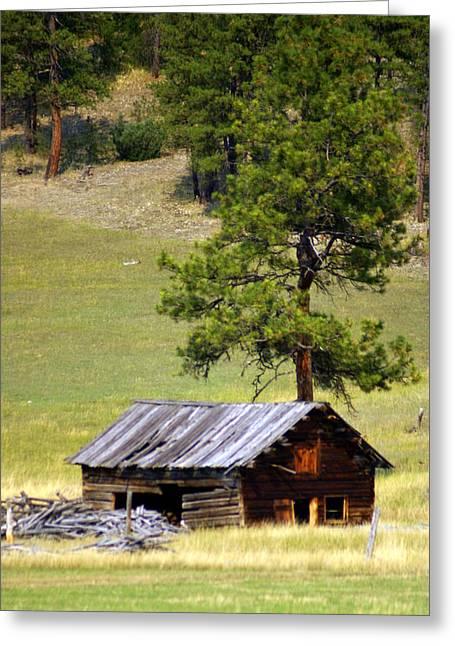 Marty Koch Photographs Greeting Cards - Montana Ranch 2 Greeting Card by Marty Koch