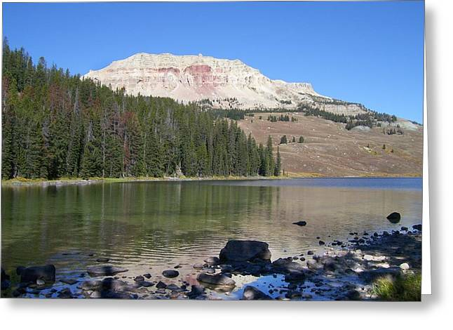 Big Pine Country Greeting Cards - Montana100 0883 Greeting Card by Michael Peychich