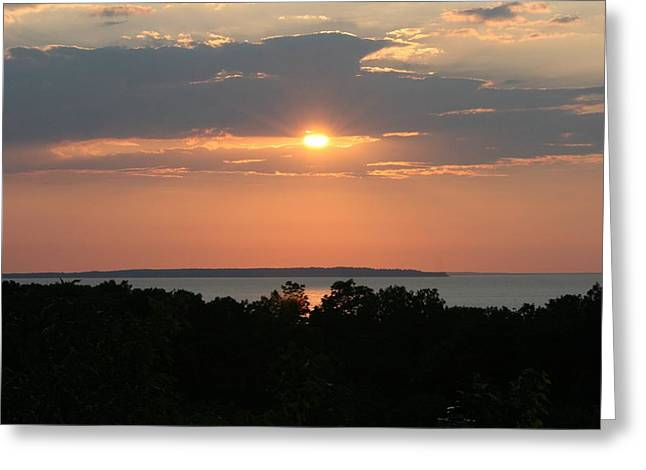 Long Island Photographs Greeting Cards - Montauk Sundown Greeting Card by Christopher Kirby