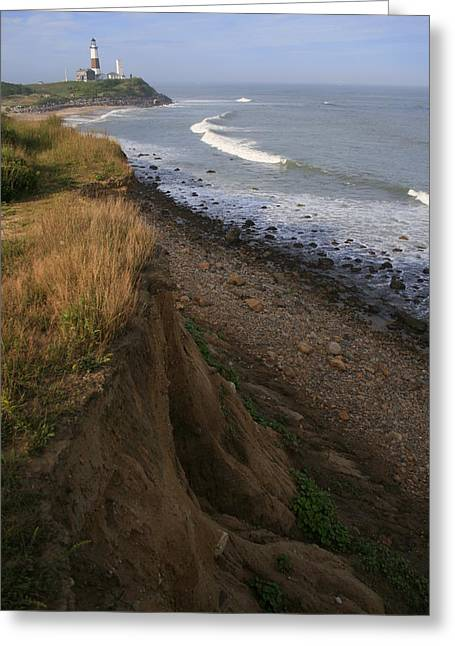 York Beach Photographs Greeting Cards - Montauk Surf and Turf Greeting Card by Christopher Kirby