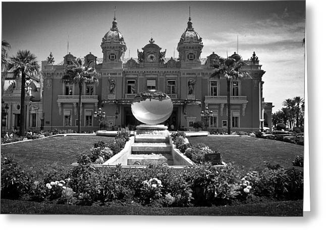 South Of France Greeting Cards - Monte Carlo Greeting Card by Chris Boulton