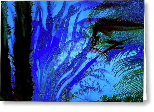 Sherri Painting Greeting Card featuring the digital art Monterey Bay by Sherri  Of Palm Springs