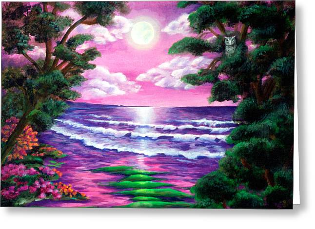 Diana Lehr Greeting Cards - Monterey Greeting Card by Diana Lehr