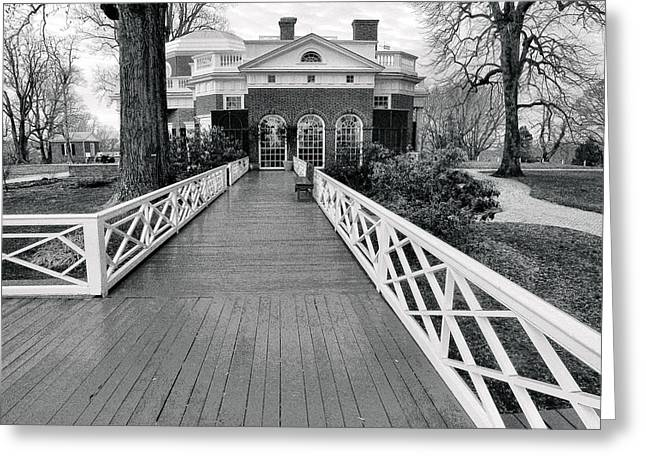 Historic Architecture Greeting Cards - Monticello III Greeting Card by Steven Ainsworth