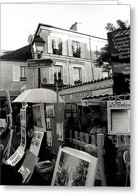 Kathy Yates Photography. Greeting Cards - Montmartre Greeting Card by Kathy Yates