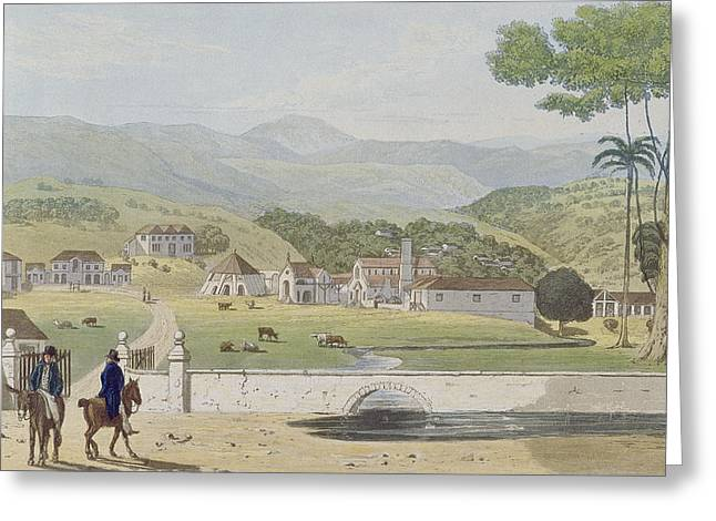 1843 Greeting Cards - Montpelier Estates - St James Greeting Card by James Hakewill