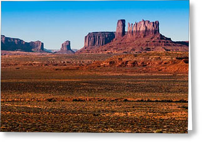 North American Indian Ethnicity Greeting Cards - Monument Valley 11 Greeting Card by Josh Whalen