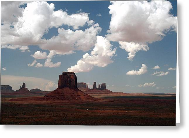 Elizabeth Rose Greeting Cards - Monument Valley Greeting Card by Elizabeth Rose