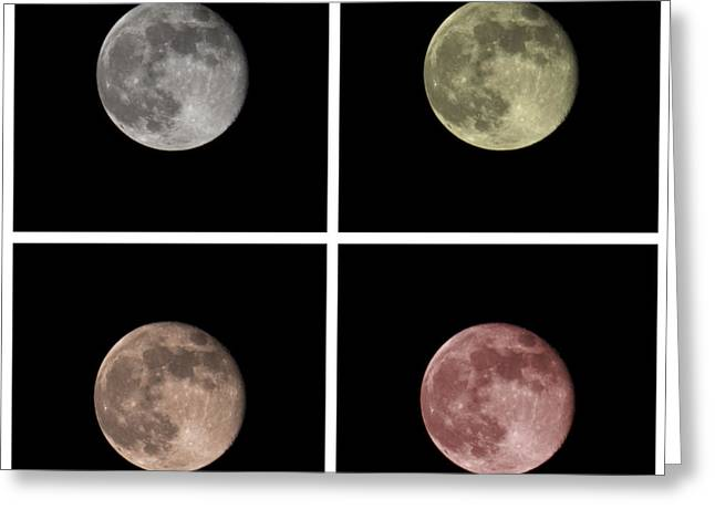 Spheres Greeting Cards - Moon Greeting Card by Blink Images