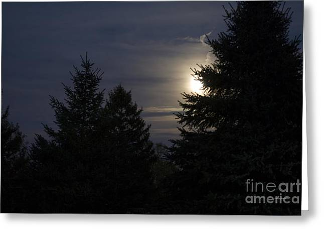 Moon Rising 01 Greeting Card by Thomas Woolworth