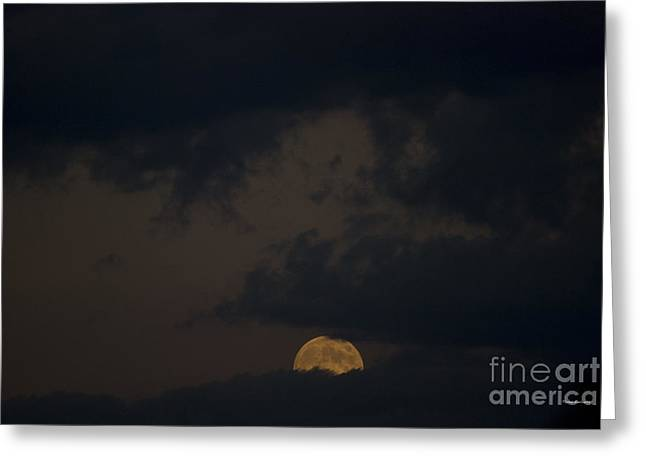 Moon Rising 03 Greeting Card by Thomas Woolworth