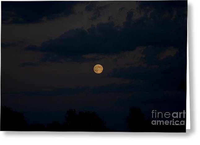 Moon Rising 06 Greeting Card by Thomas Woolworth