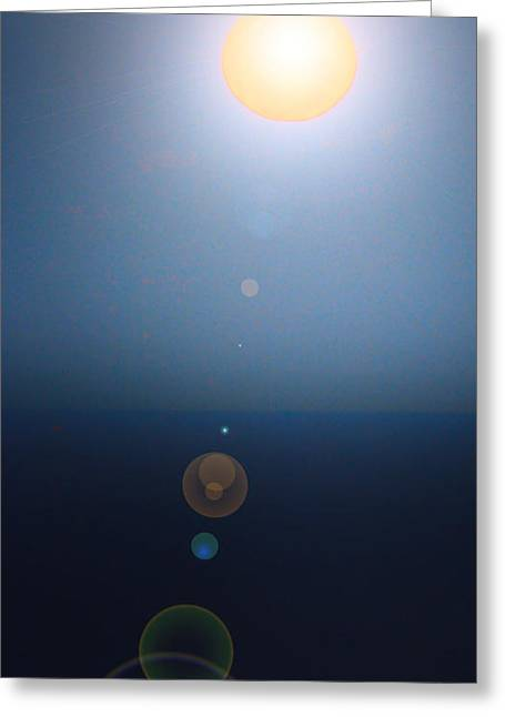 Joanne Kocwin Greeting Cards - Moonish Two Greeting Card by Joanne Kocwin