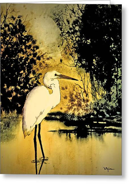 Wadding Greeting Cards - Moonlight Hunting Greeting Card by Diana  Tyson