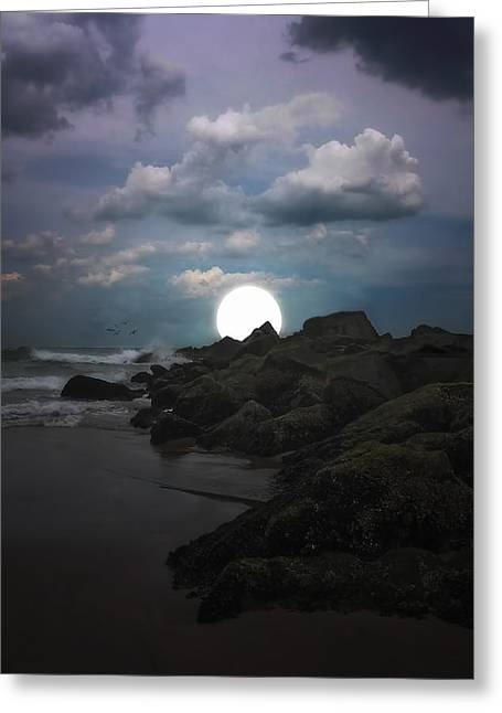 Book Cover Photographs Greeting Cards - Moonlight Tonight Greeting Card by Tom York Images