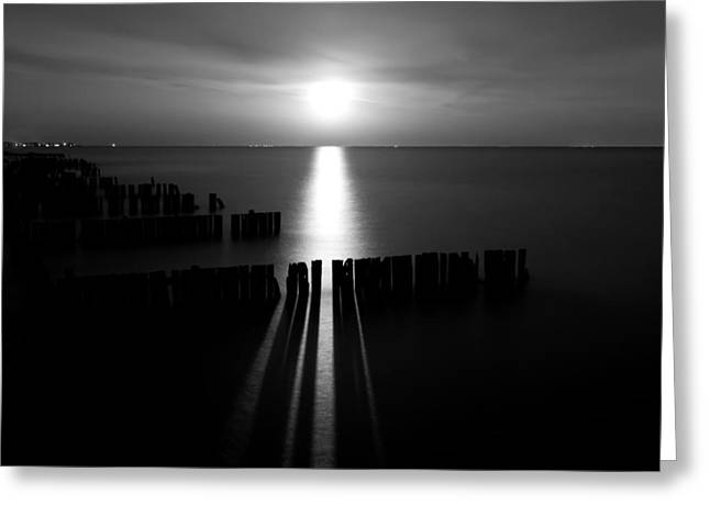 Moonrise 2 Greeting Card by Cale Best