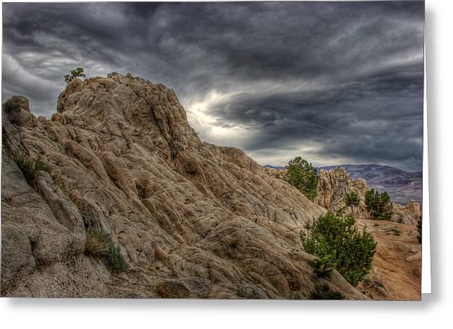 High Desert Greeting Cards - MoonRocks Greeting Card by Scott McGuire