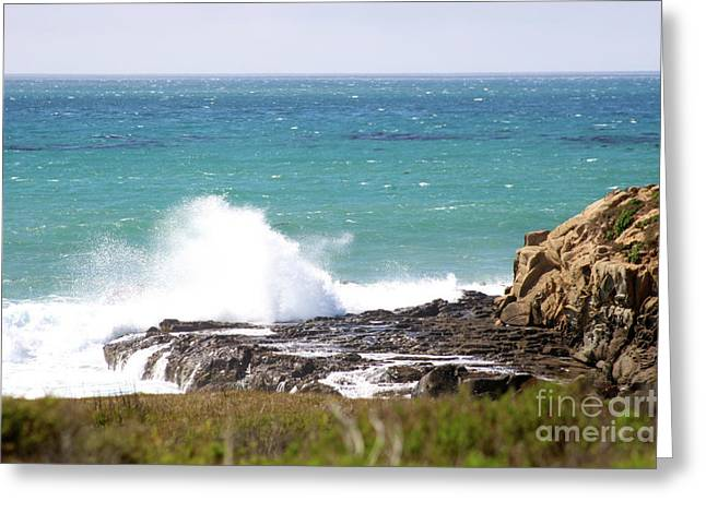 Coast Highway One Greeting Cards - Moonstone Beach Greeting Card by Brooke Roby
