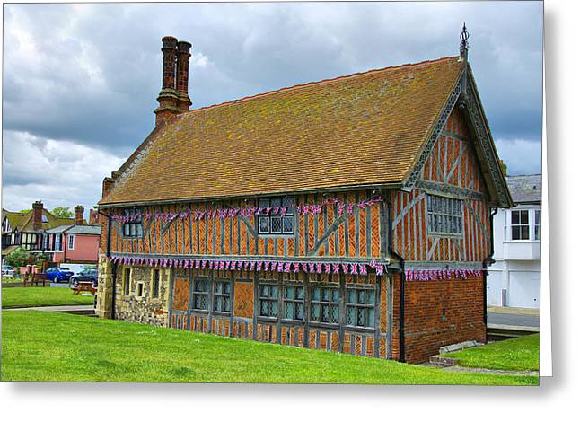 Clerk Greeting Cards - Moot Hall Aldeburgh Greeting Card by Chris Thaxter