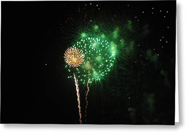 Brynn Ditsche Greeting Cards - More Fireworks  Greeting Card by Brynn Ditsche