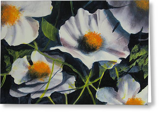 more poppies Greeting Card by Robert Carver